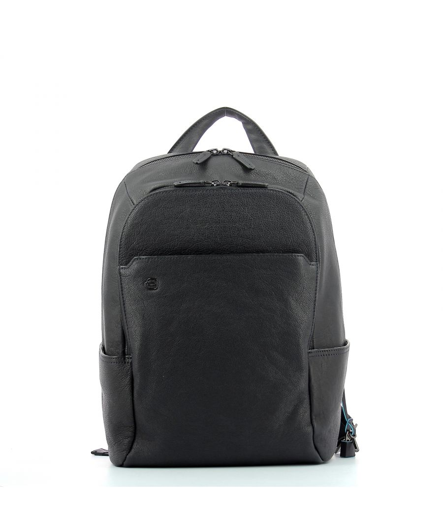 Image for Computer Backpack Black Square 14.0 Piquadro BLU