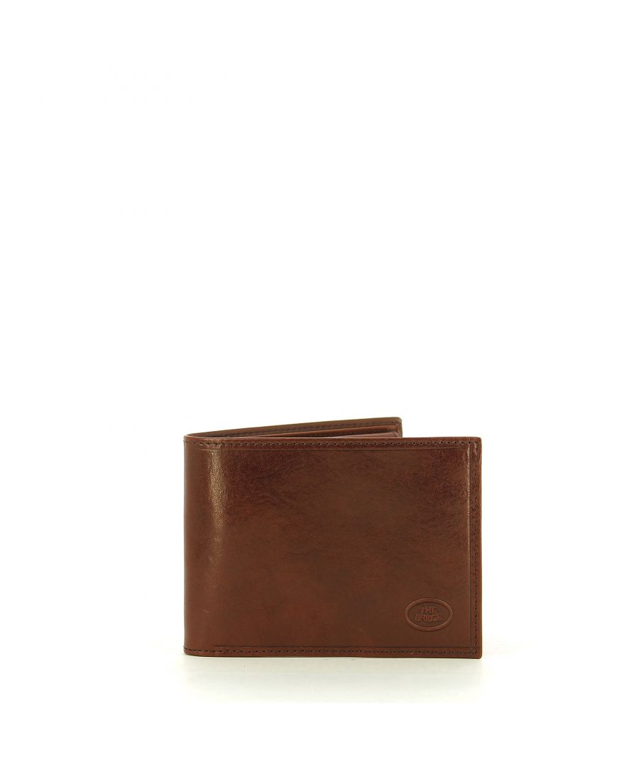 Image for Man Wallet with coin pouch Story The Bridge CUOIO