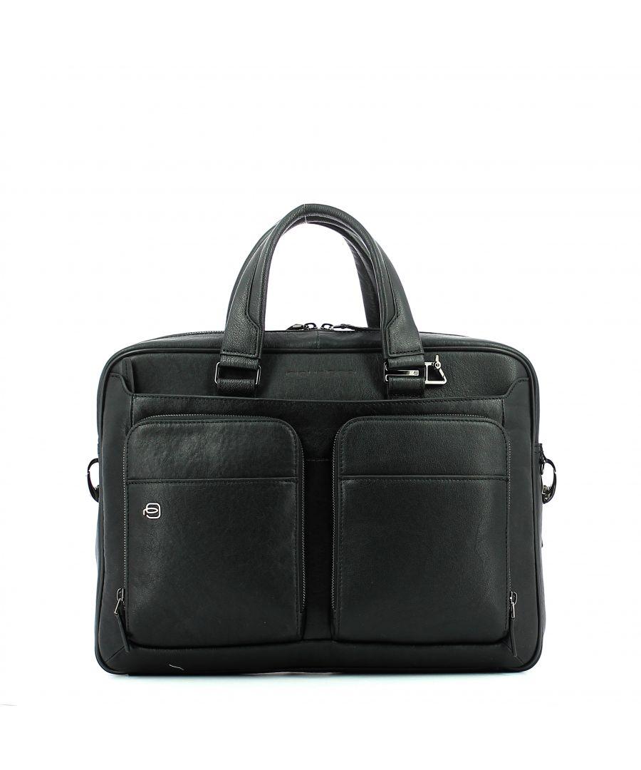 Image for Laptop briefcase Black Square 15.0 Connequ Piquadro NERO