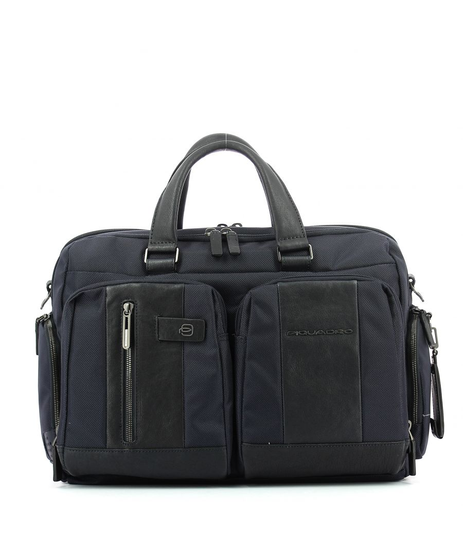 Image for Fast-Check briefcase Connequ Brief 15.6 Piquadro BLU