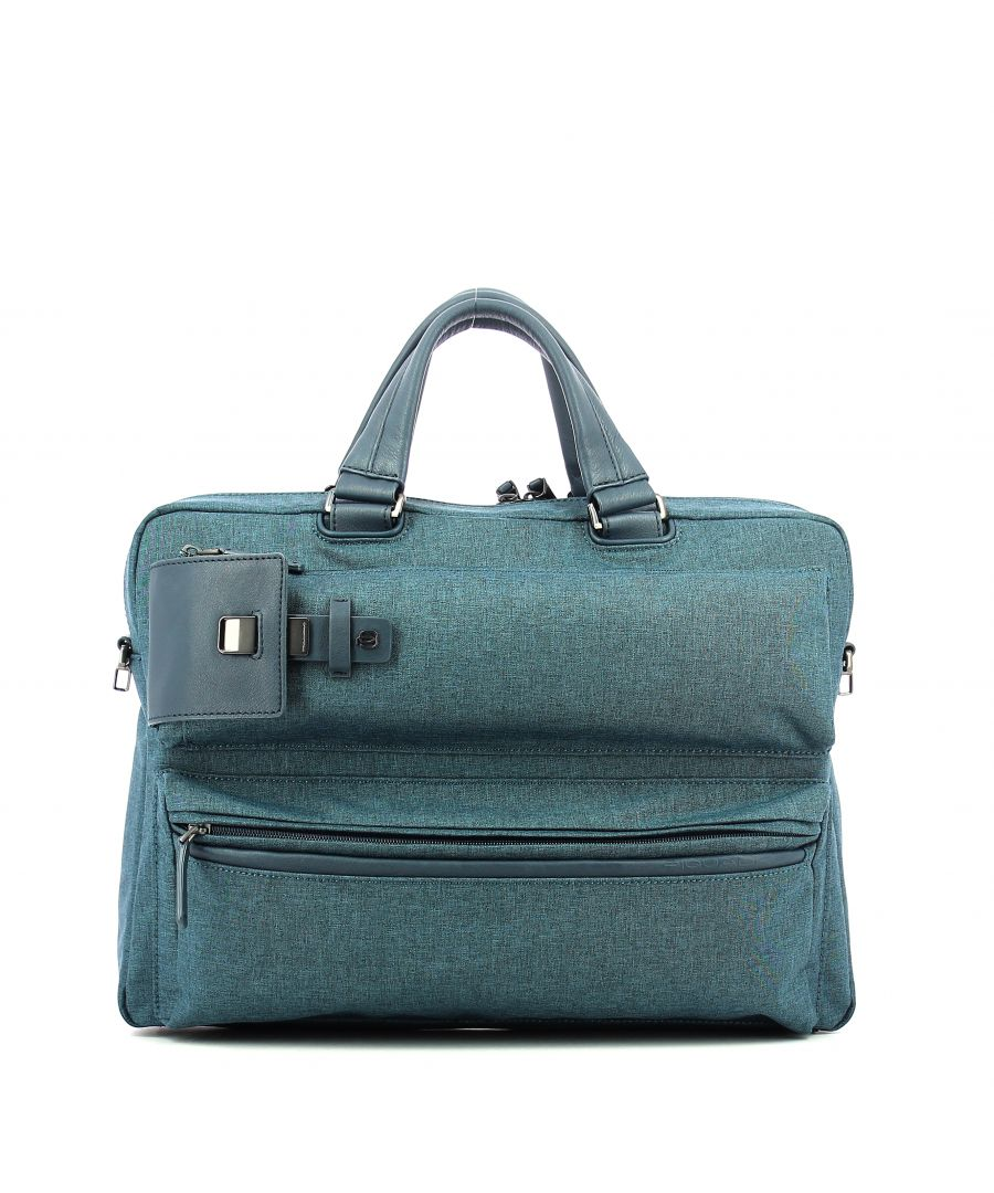 Image for Portfolio computer briefcase Yukon 15.0 Piquadro BLU
