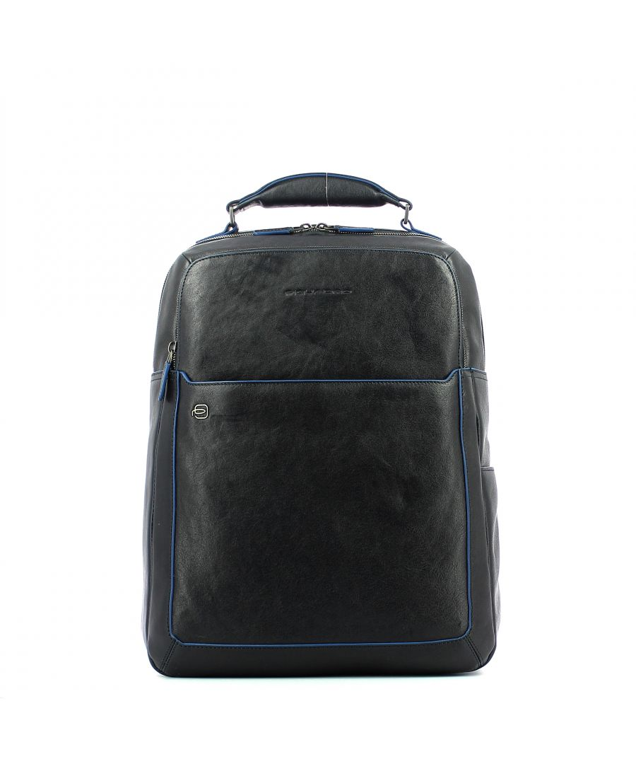 Image for Fast check computer backpack B2S 15.6 Piquadro BLU