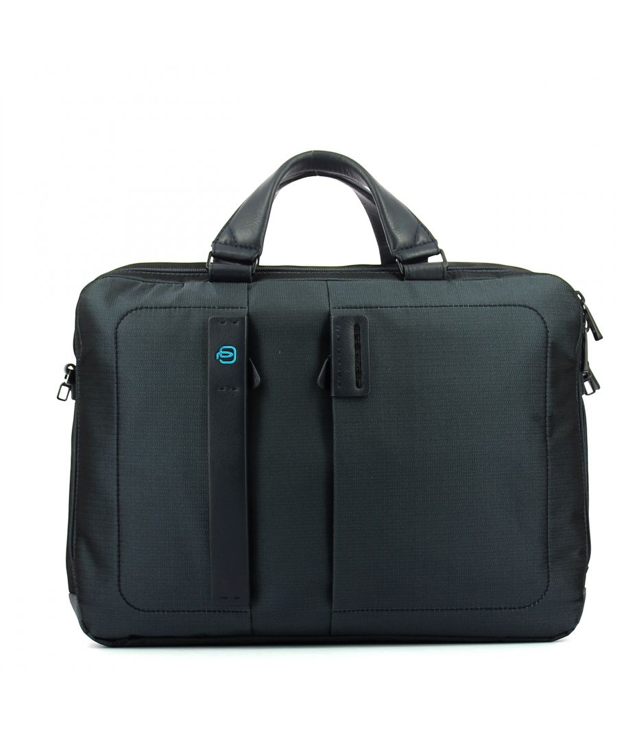 Image for Computer Briefcase P16 Connequ 15.6 Piquadro CHEV BLU