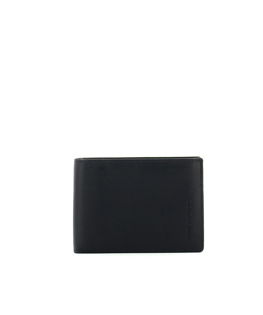Image for Men Wallet with Coin Pouch Piquadro BLU/MARRONE