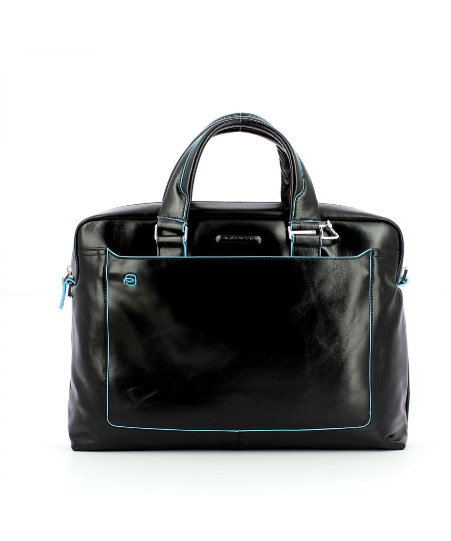 Image for Computer portfolio briefcase Blue Square 14.0 Piquadro NERO