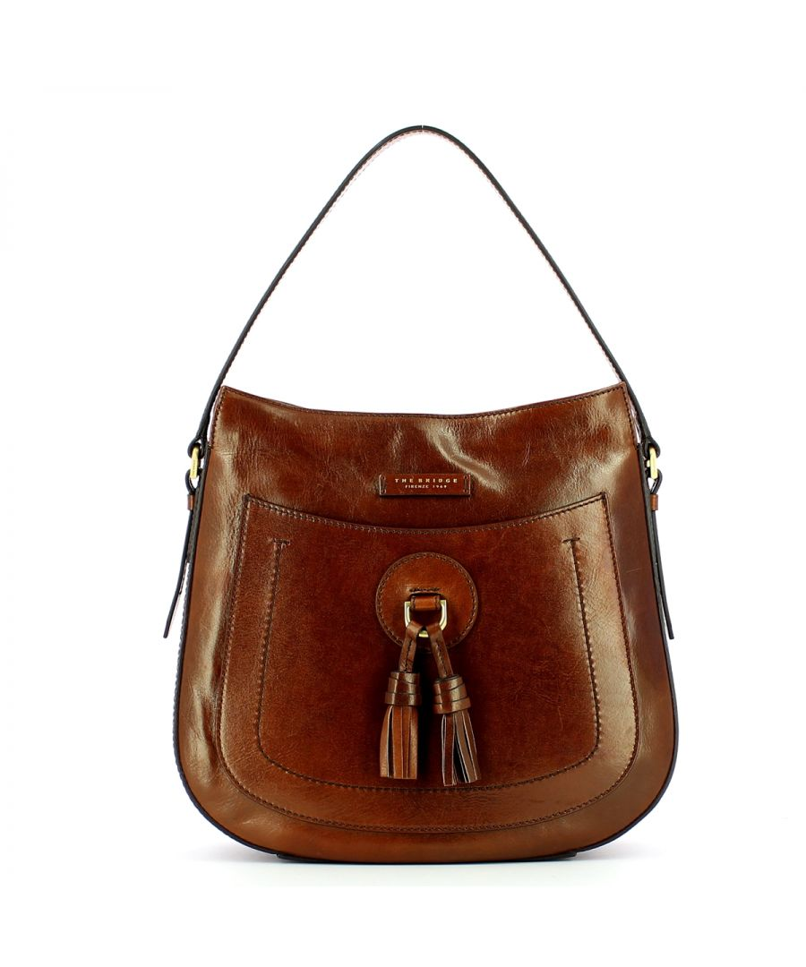 Image for Santacroce Hobo Bag The Bridge MARRONE TB 14
