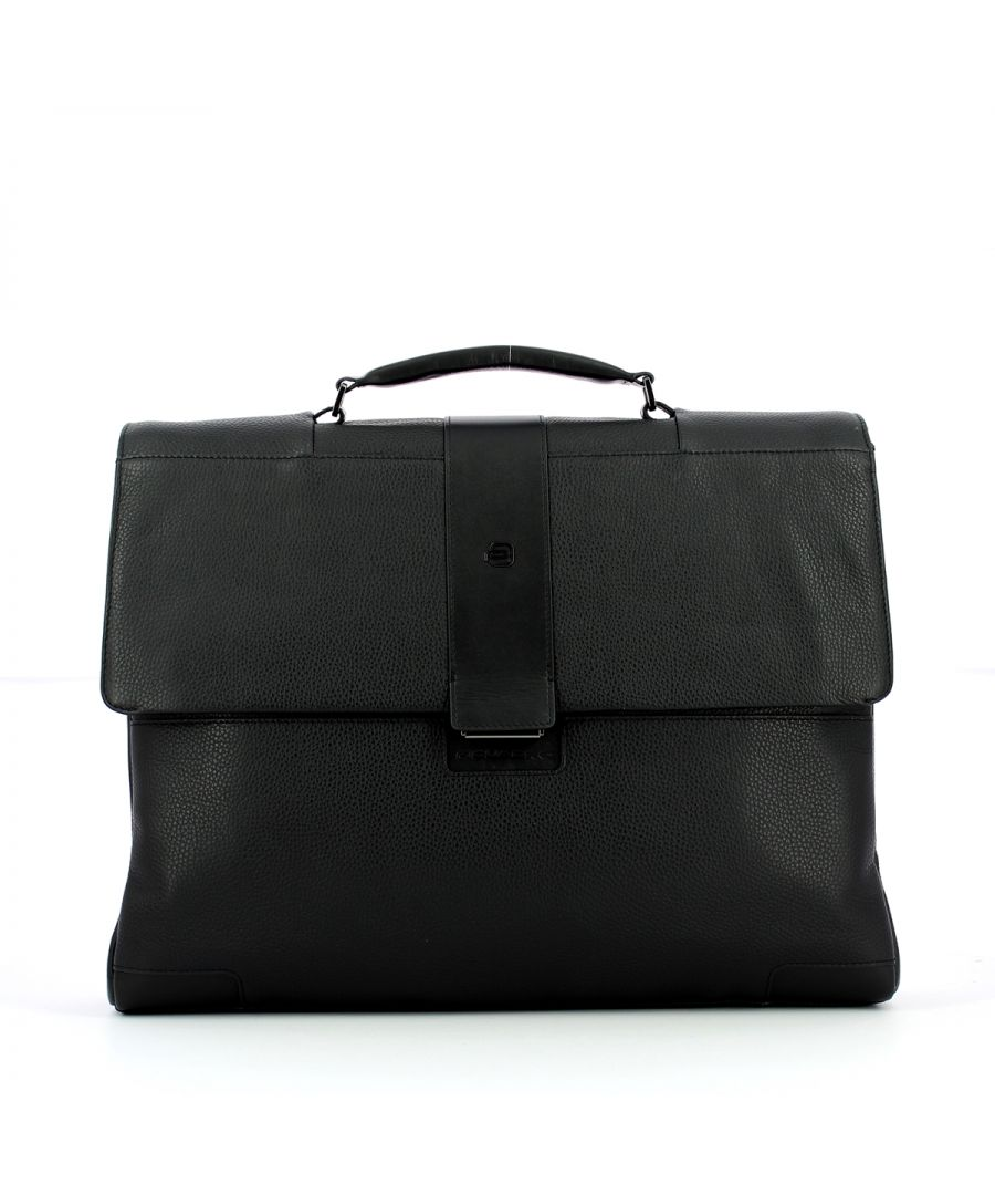 Image for Computer Briefcase 15.6 Ili Piquadro NERO