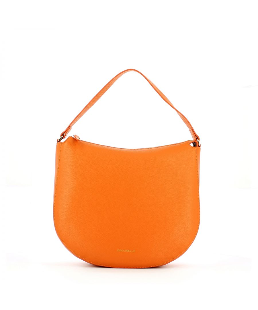 Image for Dione Hobo Bag Coccinelle FLASH ORANGE