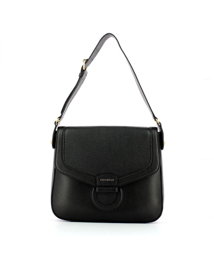Image for Vega Maxi shoulderbag Coccinelle NOIR