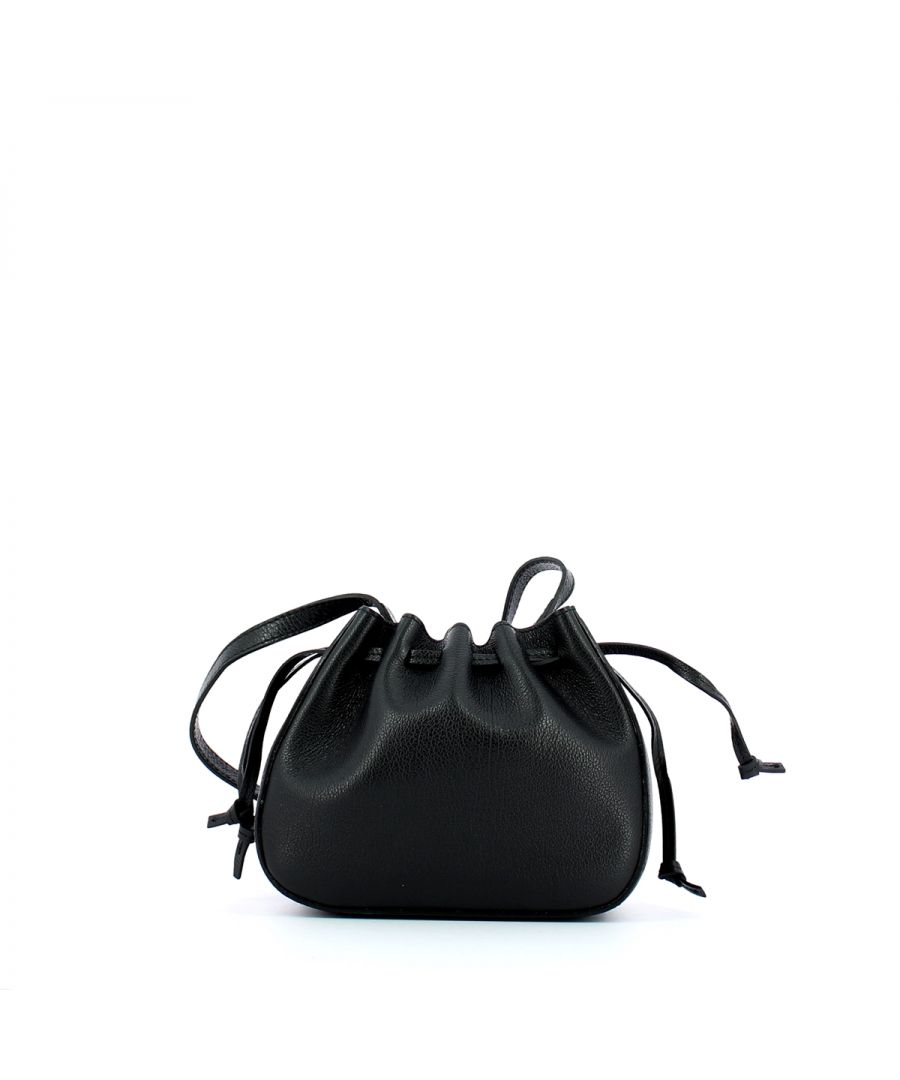 Image for Antiope Minibag in leather Coccinelle NOIR