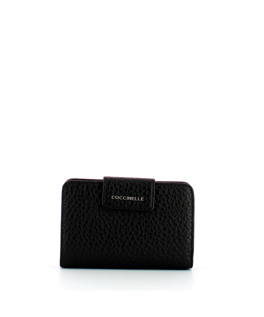 Image for Pocket wallet Metallic Truareg Coccinelle NOIR
