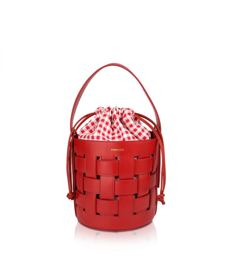 Image for Bucket bag Andrea Pomikaki RED