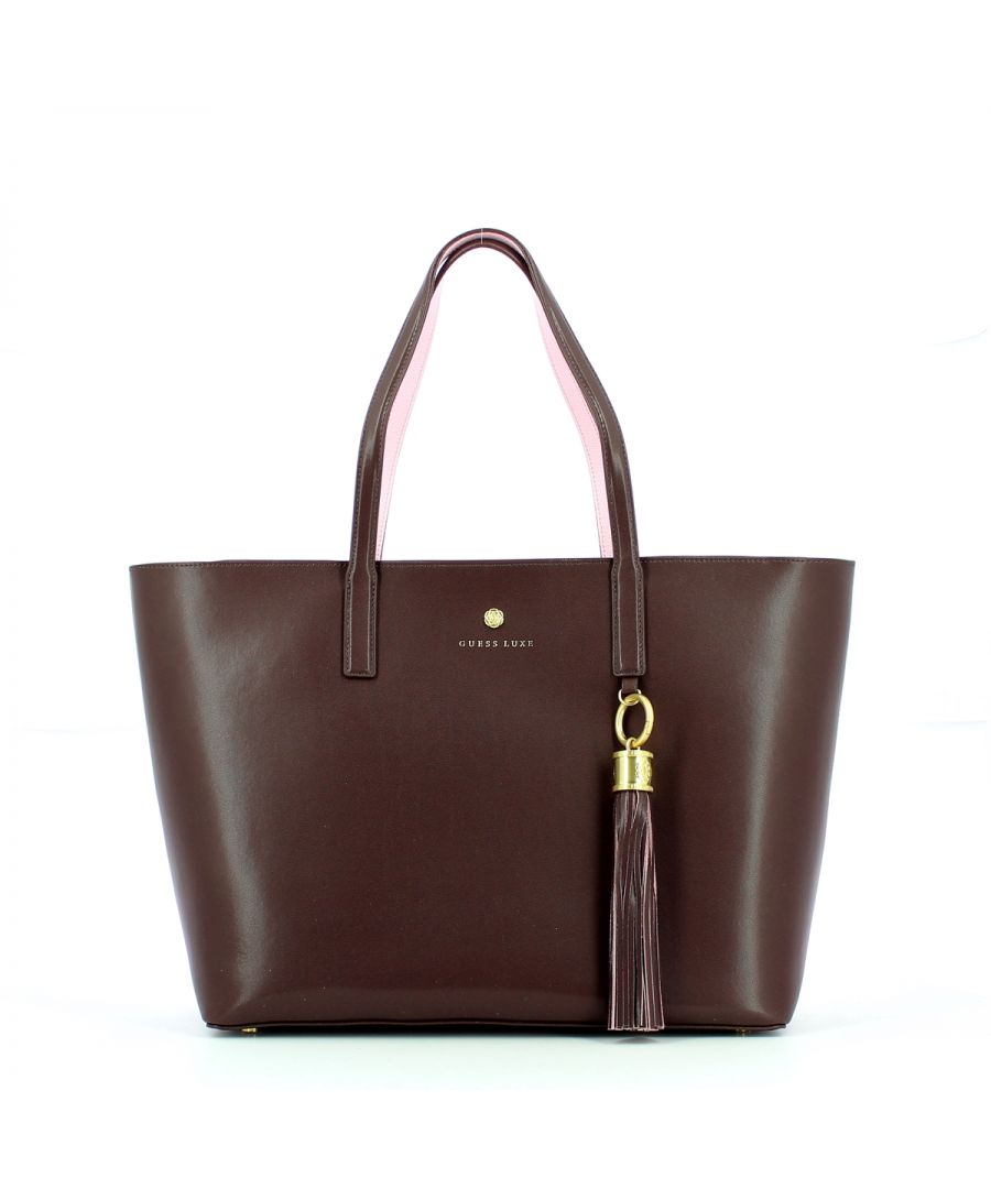 Image for Carryall Groovy in smooth leather Guess Luxe BURGUNDY