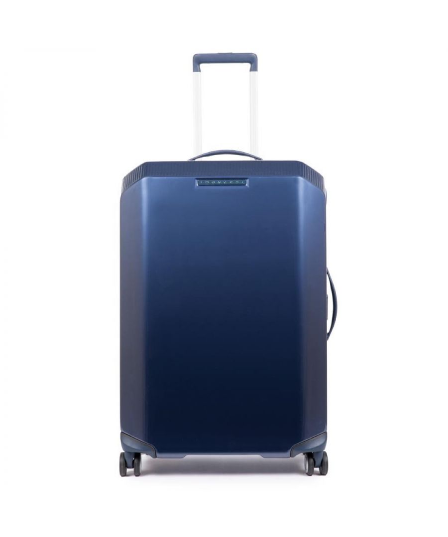 Image for PiQ3 Medium Trolley Piquadro BLU