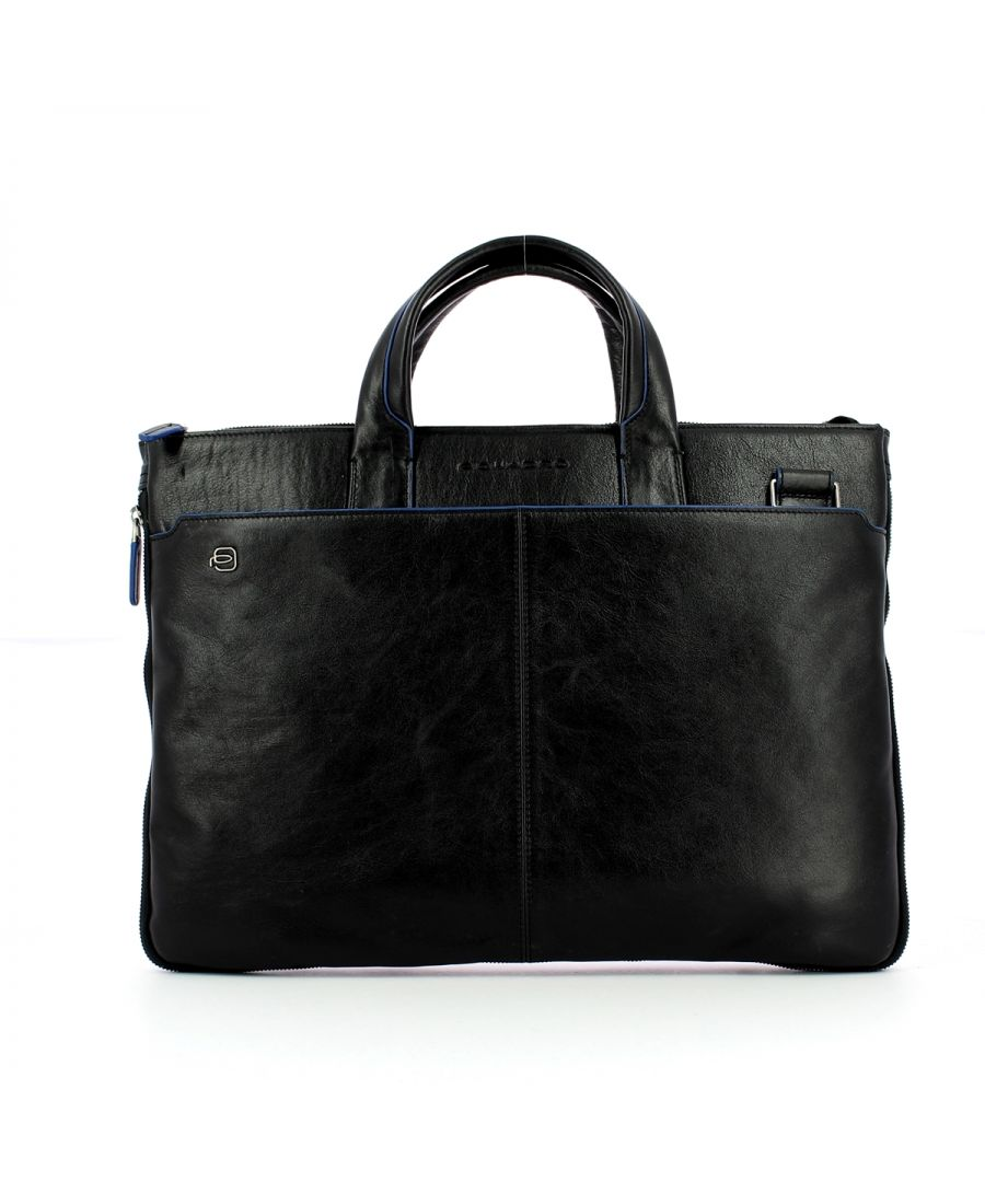 Image for Slim Exp. Laptop Bag B2S 15.6 Piquadro NERO