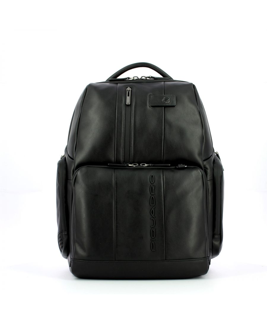 Image for Fast-Check Laptop Backpack 15.6 Urban Piquadro NERO