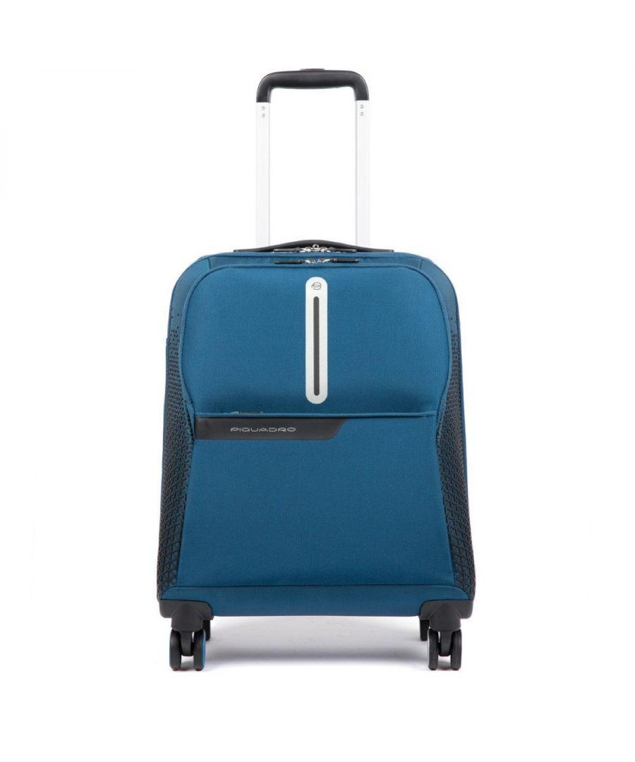 Image for Ultra Slim Coleos Cabin Case Piquadro BLU