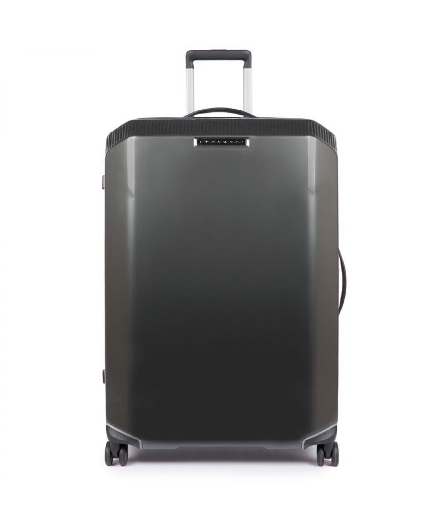 Image for Large trolley PiQ3 Piquadro NERO