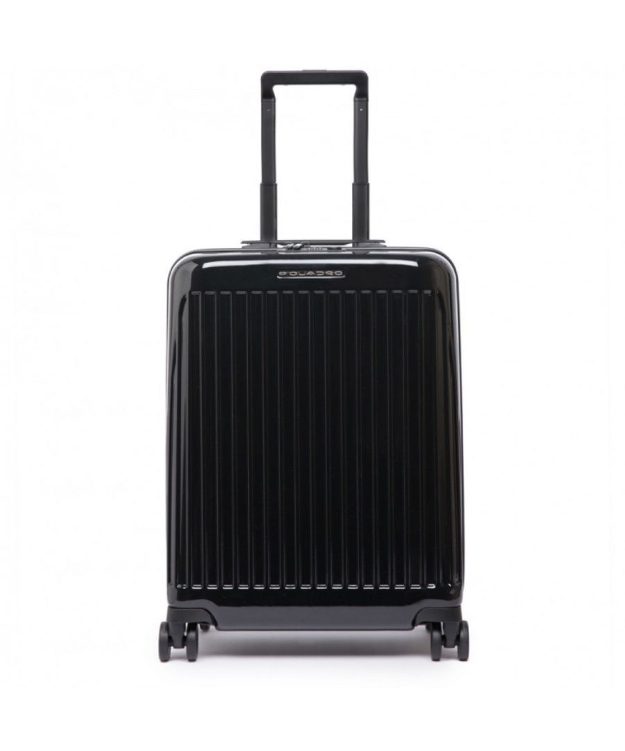 Image for Trolley Seeker Large Piquadro NERO