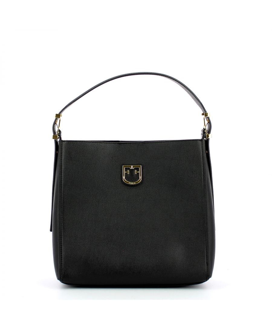 Image for Hobo Bag Belvedere S Furla ONYX