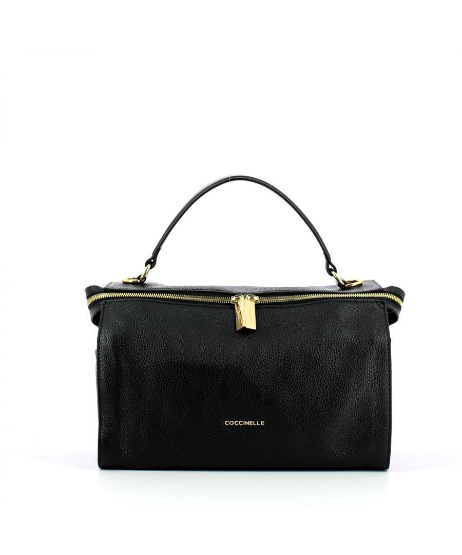 Image for Atsuko Medium Handbag Coccinelle NOIR