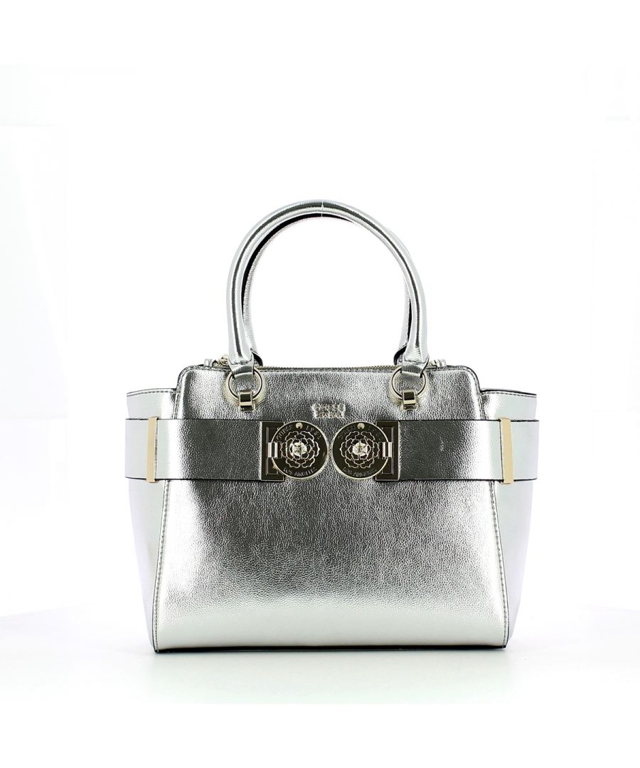 Image for Carina Society Satchel Silver Guess SILVER