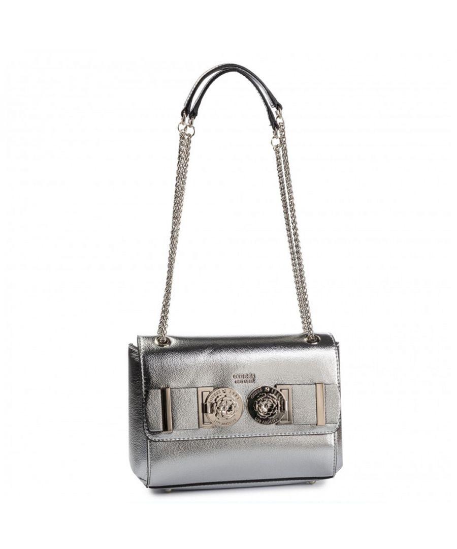 Image for Convertible Carina Crossbody Bag Silver Guess SILVER