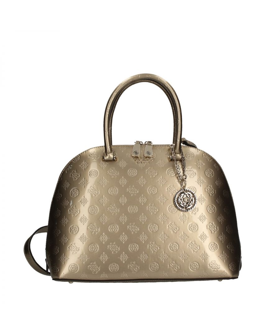 Image for Large Dome Satchel Peony Guess CHAMPAGNE