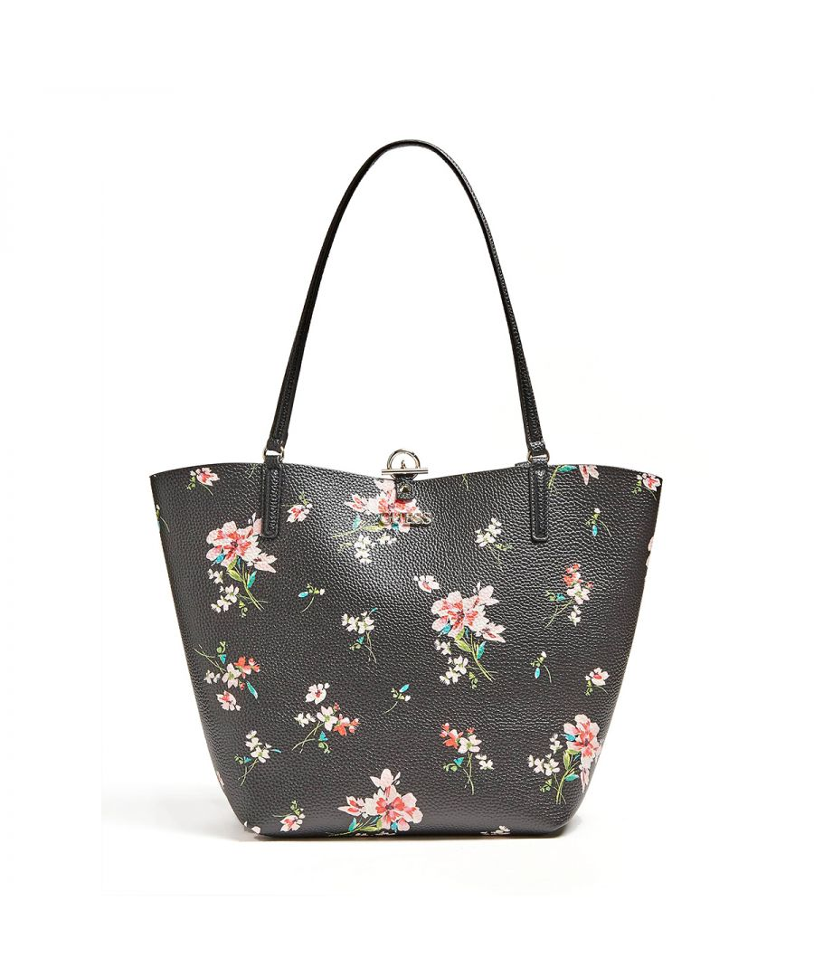 Image for Reversible Tote Bag Alby Guess FLORAL