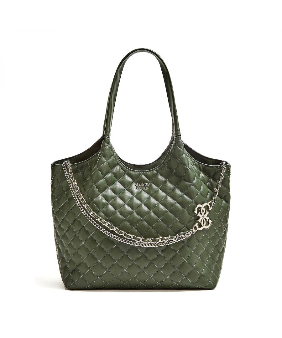 Image for Quilted Shopper Miriam Guess FOREST