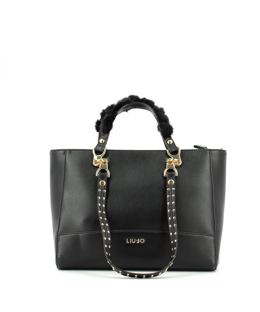 Image for Shopper with double set handles Liu Jo BLACK
