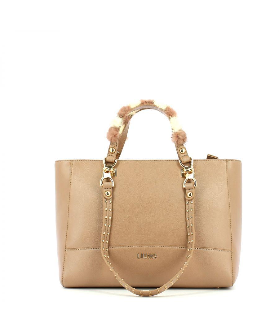 Image for Shopper with double set handles Liu Jo NOCCIOLA