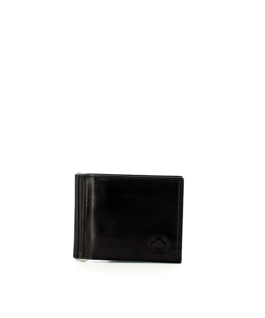 Image for Man Wallet with Bill Clip Story The Bridge NERO ABB. PALLA