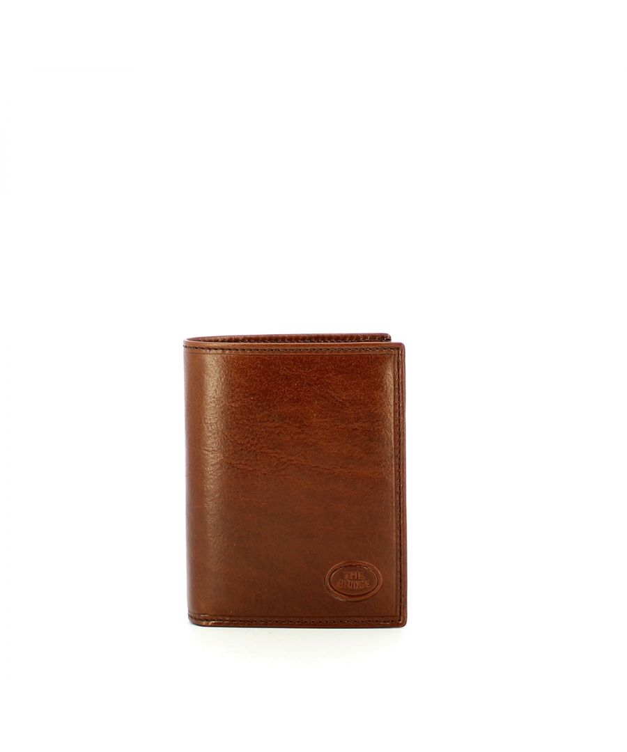Image for Vertical wallet Story The Bridge MARRONE TB 14