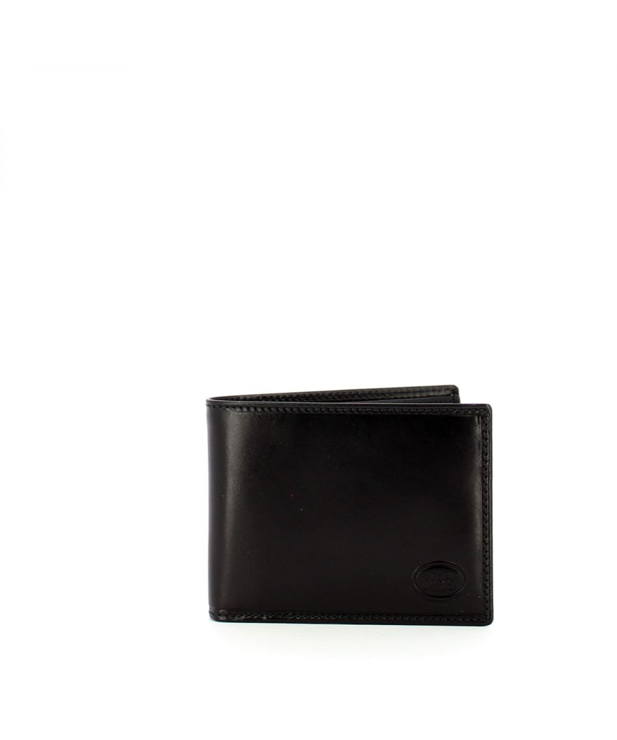 Image for Slim Wallet Story with coin pocket The Bridge NERO ABB. PALLA