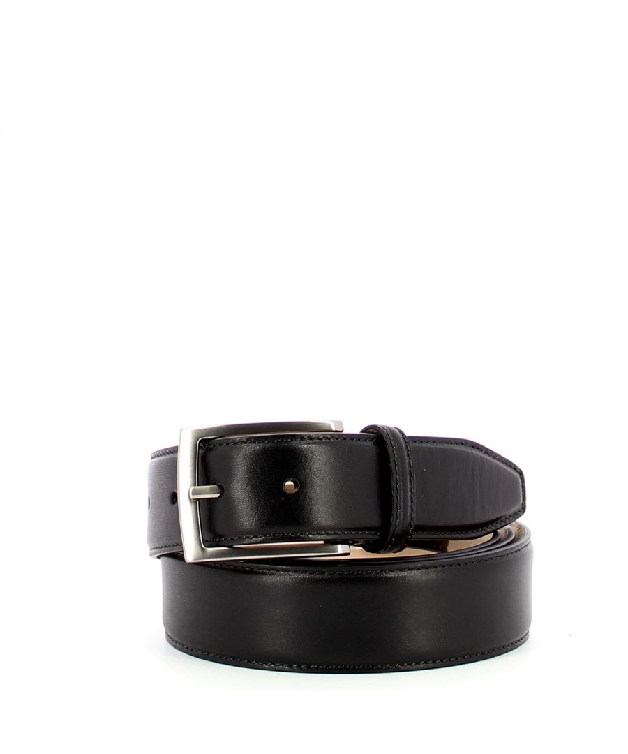 Image for Men Belt Story The Bridge NERO ABB. PALLA