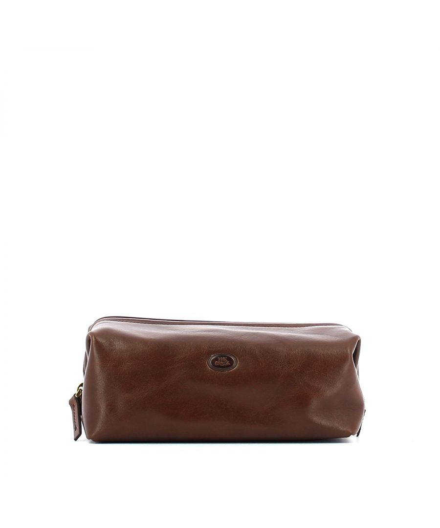 Image for Leather pouch Story The Bridge MARRONE TB 14