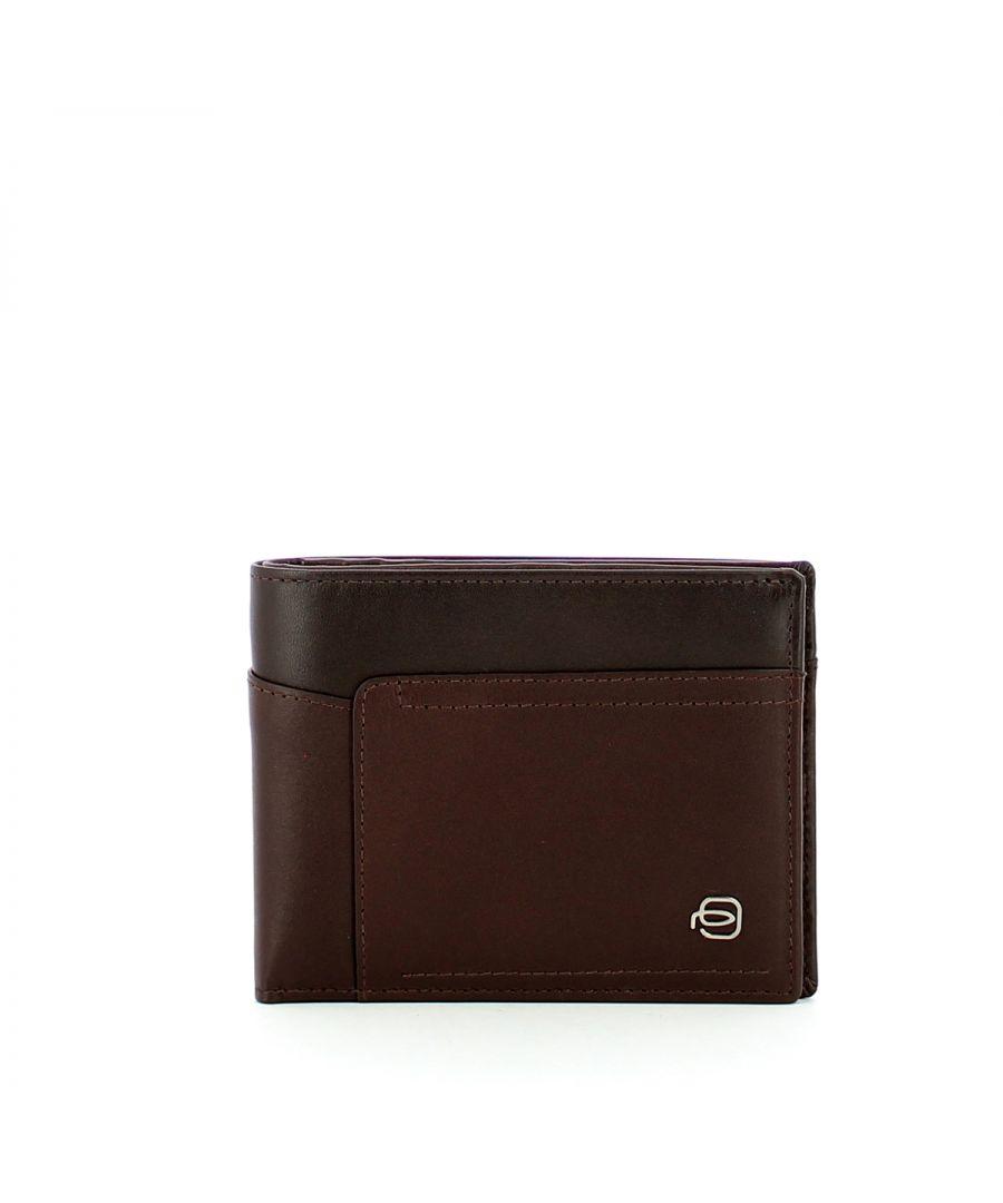 Image for RFID Twelve slot wallet Cary Piquadro TESTA MORO