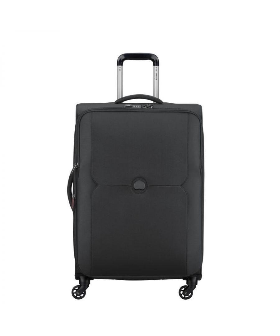 Image for Expandable Medium Trolley Mercure 70 cm Delsey NERO