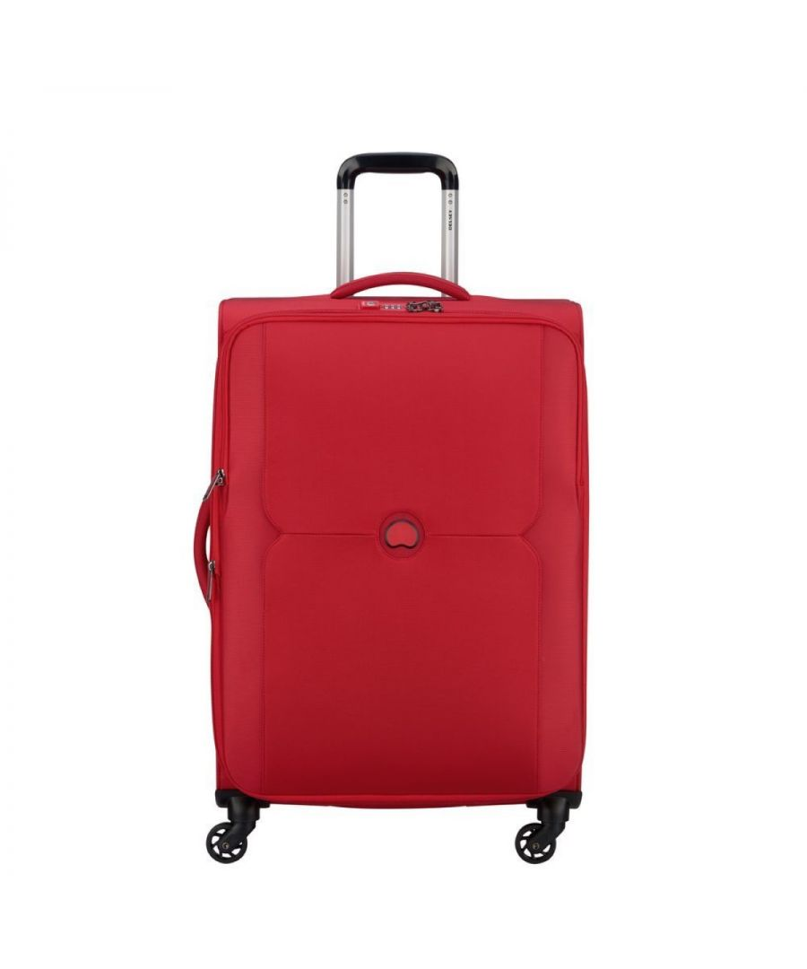 Image for Expandable Medium Trolley Mercure 70 cm Delsey ROSSO