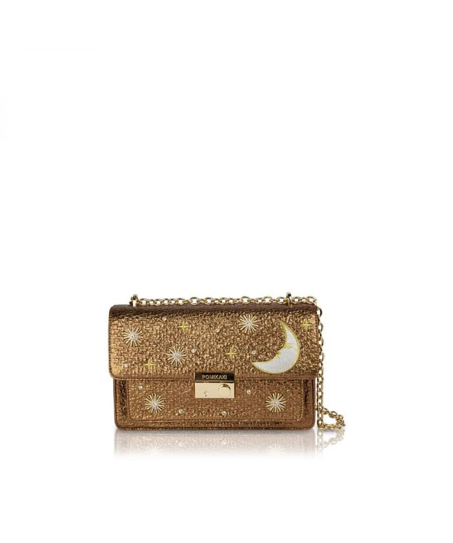 Image for Crossbody Bag Giulietta Moon Pomikaki BRONZE