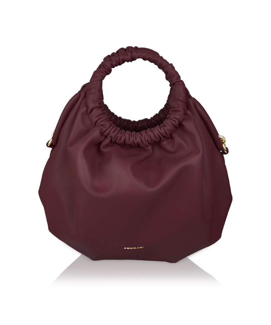 Image for Handbag Kylie Pomikaki BURGUNDY