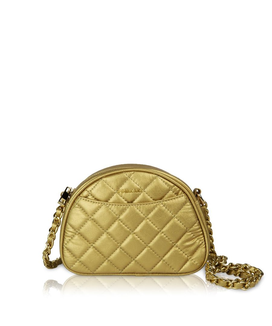 Image for Quilted crossbody Missy Pomikaki GOLD