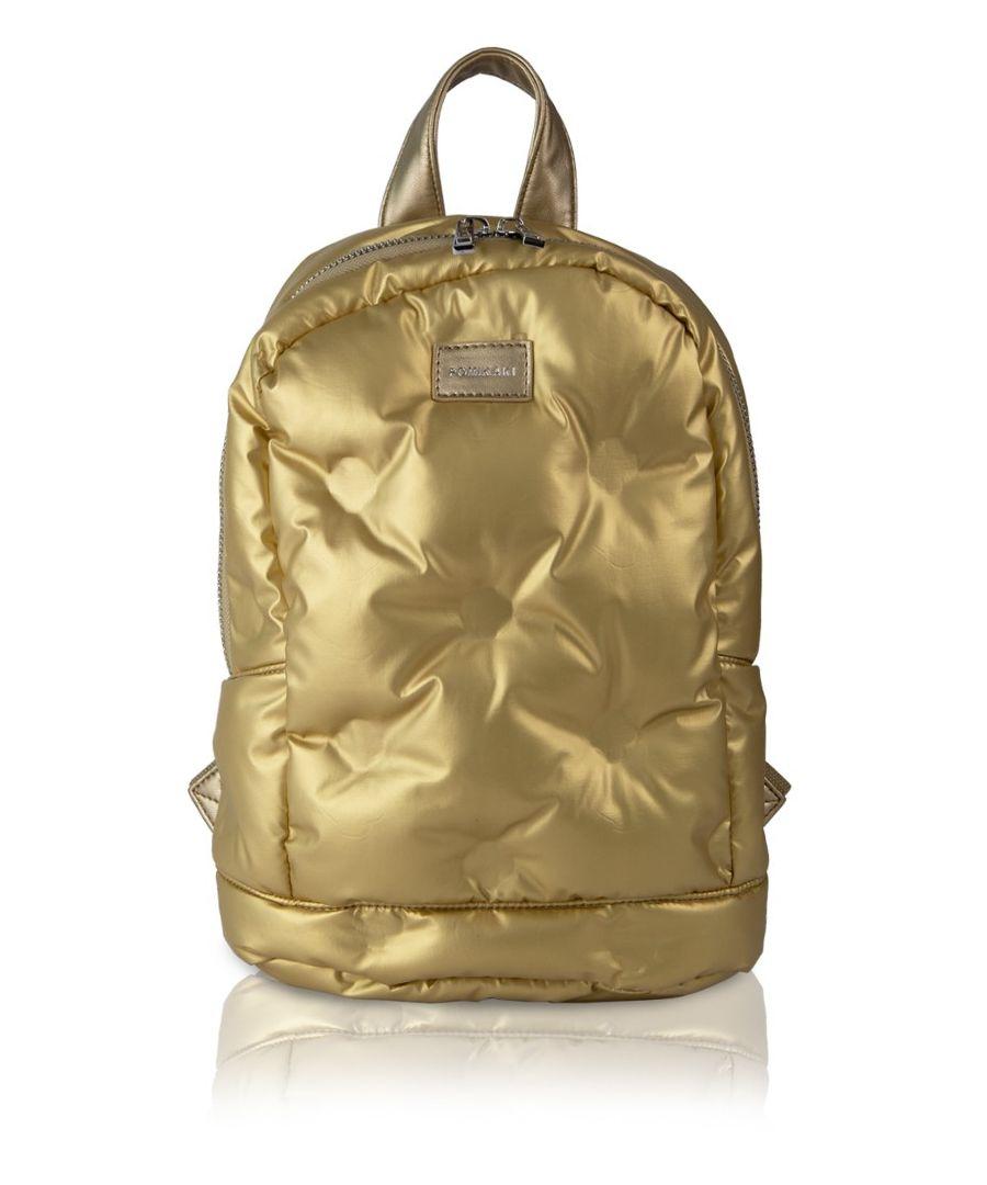 Image for Backpack Puffy Pomikaki GOLD