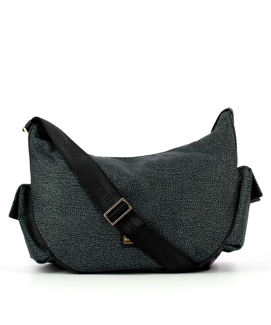 Image for Portofino Medium Crossbody Borbonese NERO