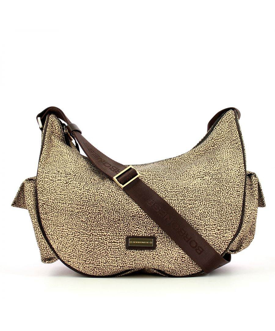 Image for Portofino Medium Crossbody Borbonese OP NATURALE