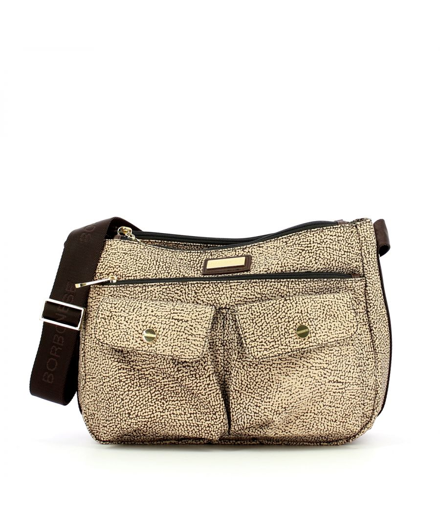 Image for Medium OP Crossbody Borbonese OP NATURALE
