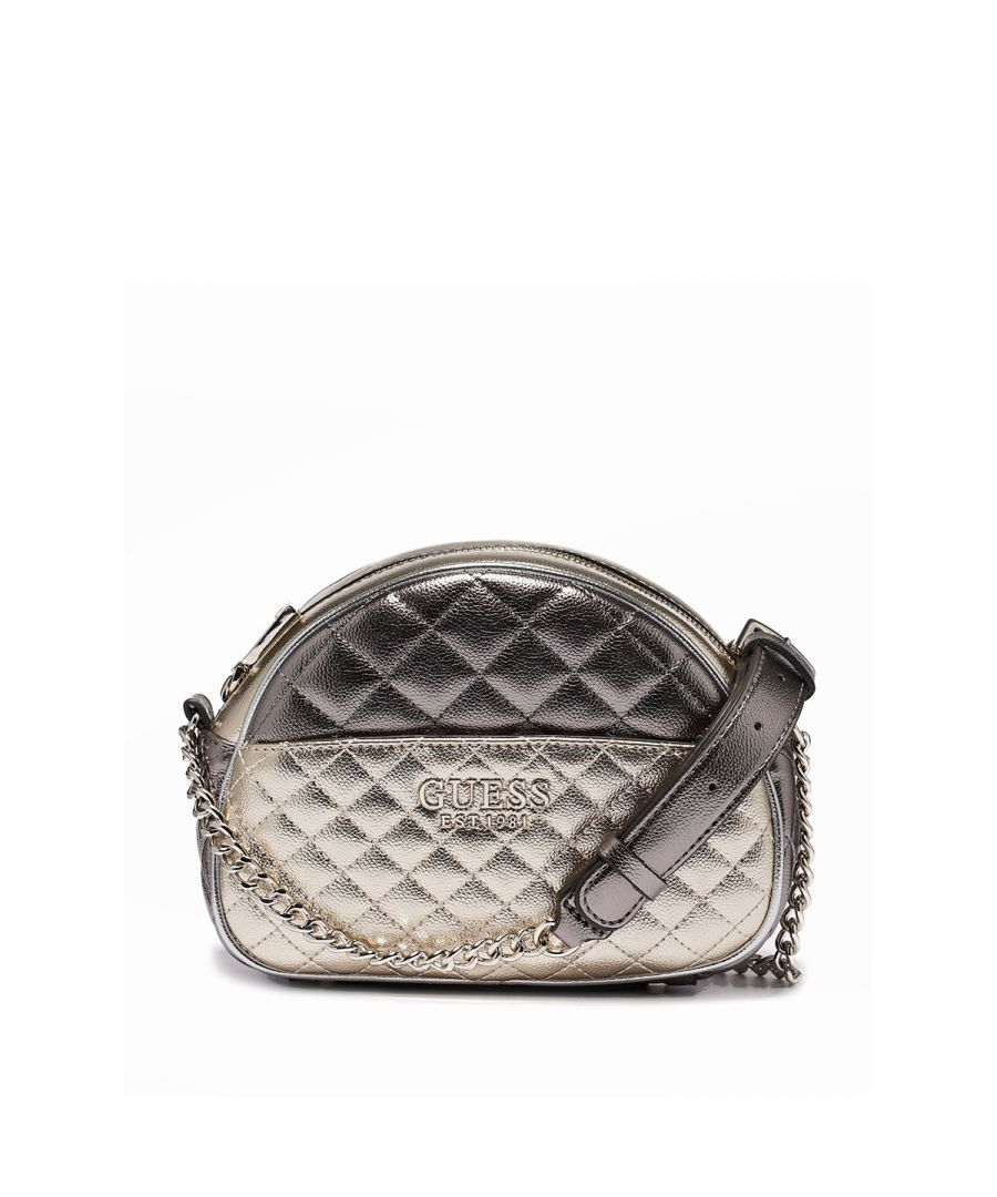 Image for Mini crossbody Brielle Guess GOLD MULTI
