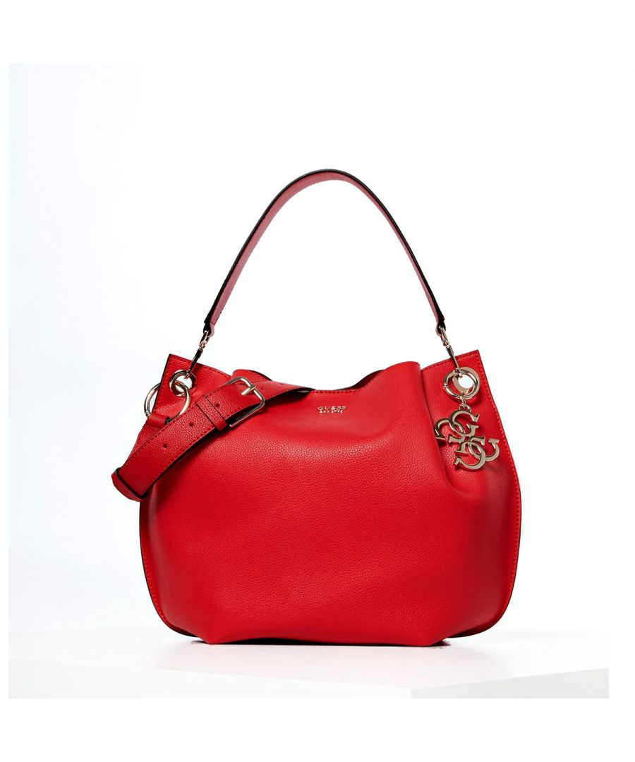 Image for Hobo Bag Digital with crossbody Guess LIPSTICK