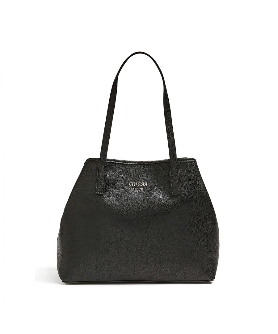 Image for Tote Bag Vikky with pochette Guess BLACK